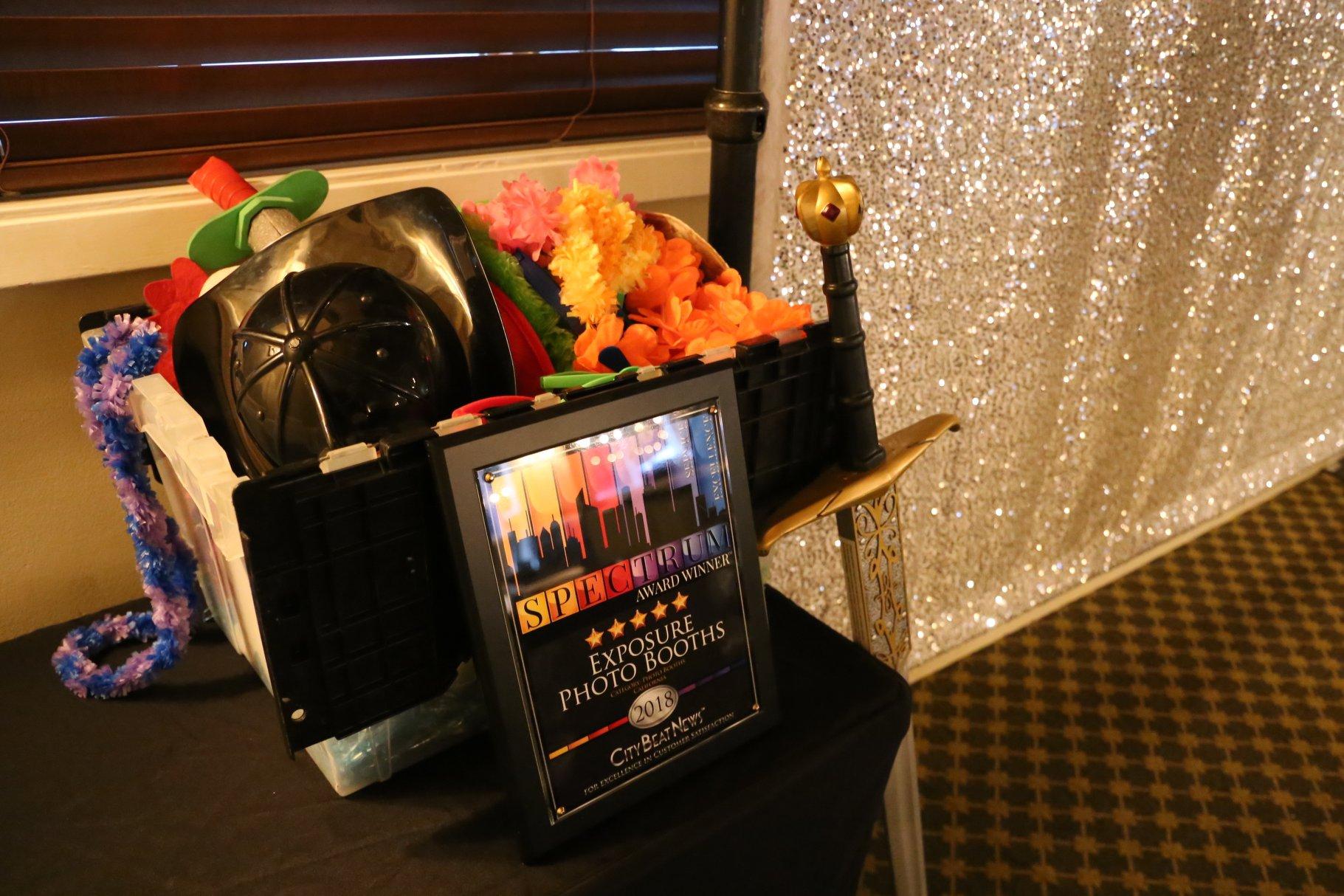 City Beat News, Spectrum Award Winner - Exposure Photo Booths