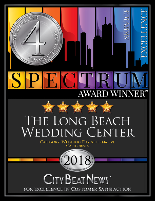 2018 Spectrum Award Winner, The Long Beach Wedding Center