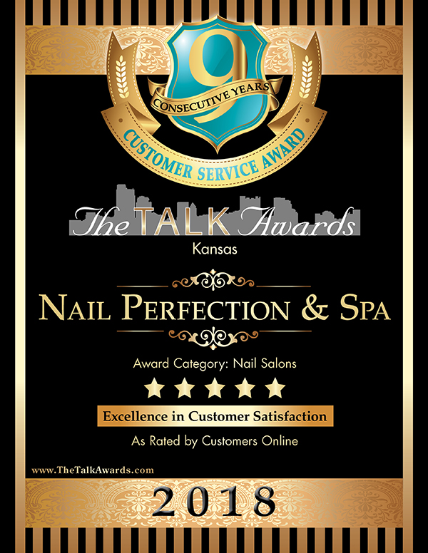 The Talk Awards 2018 Winner, Nail Perfection & Spa