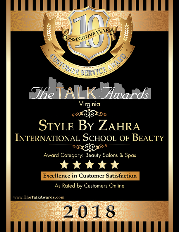 2018 Talk Awards Winner, Style by Zahra