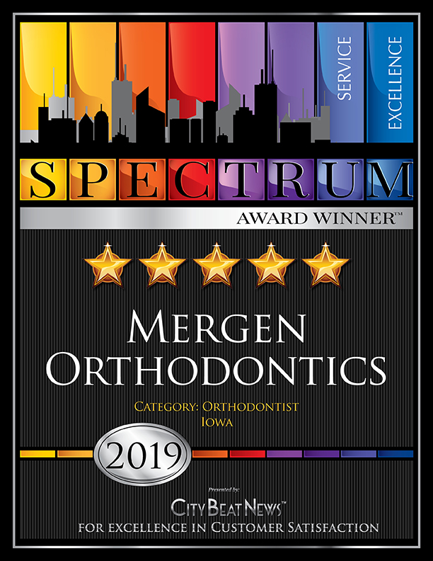 Mergen Orthodontics Spectrum Award Winner