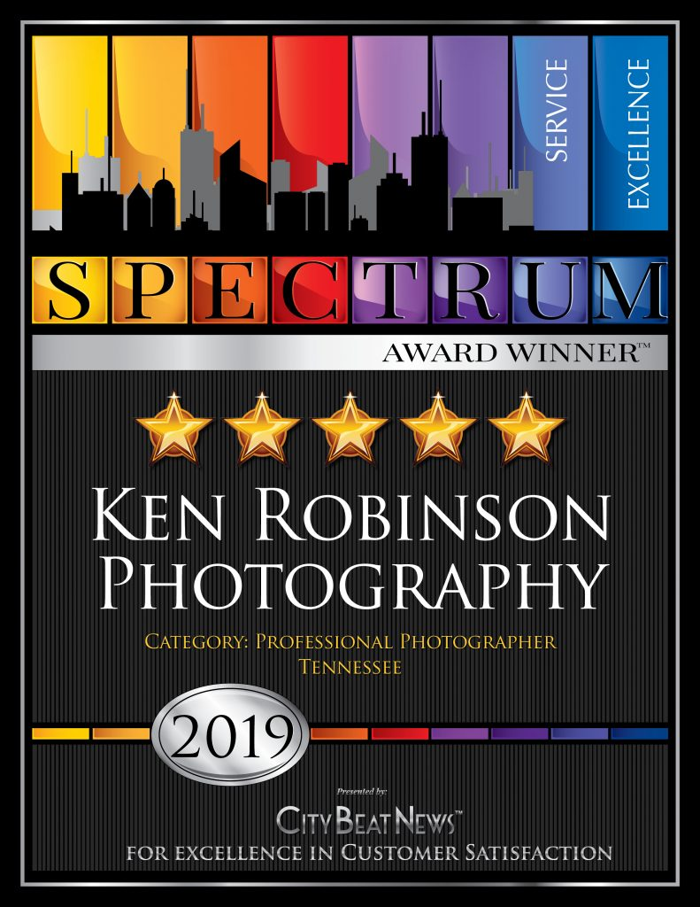 City Beat News 2019 Spectrum Award Winner, Ken Robinson Photography