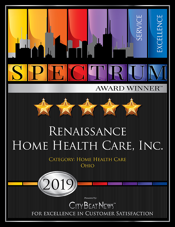 City Beat News 2019 Award Winner, Renaissance Home Health Care, Inc.
