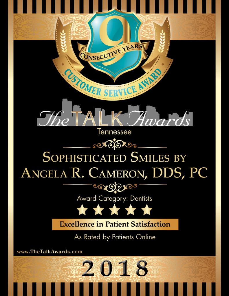 2019 Talk Award Winner, Sophisticated Smiles